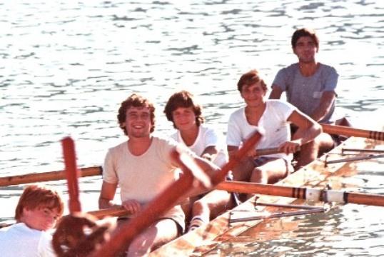 Il mitico 4 con della Sezione Marcello Cupido, Antonio Fezza, Gaetano Rapino, Eugenio Rapino, tim. Gino Maggi