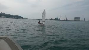 Domenica 5 ottobre 2014 Ricci Daniele in allenamento